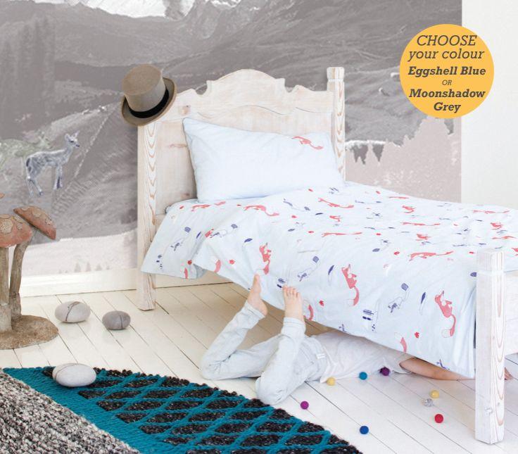 The Fox - Single Bed Duvet Set