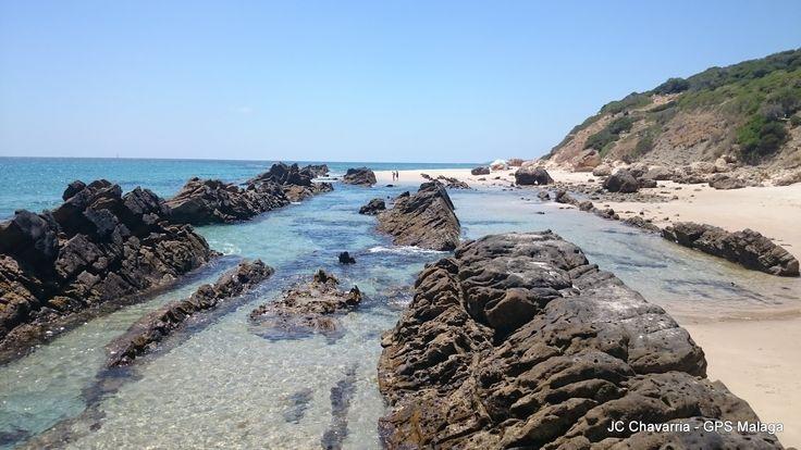 piscinas naturales playa de Bolonia Cadiz