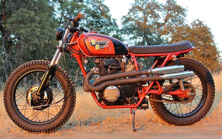 "1974 Honda CL360 ""Orange Fizz"" by Kickstart Garage - Redding (California) US"