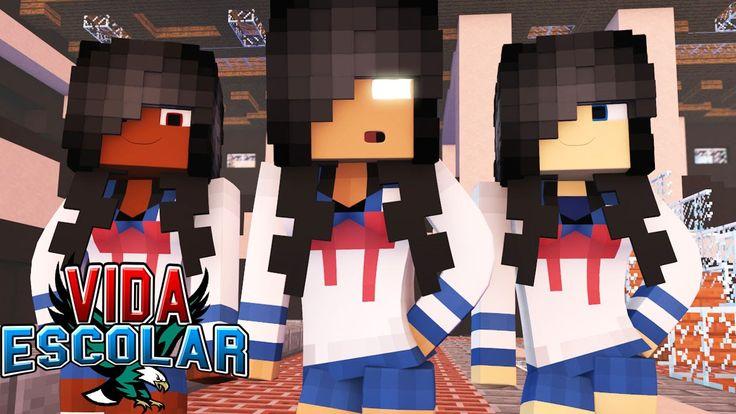 Minecraft: TROCA DE SEXO!? #15 (VIDA ESCOLAR )