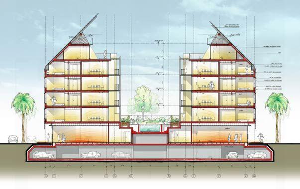 Renzo Piano Building Workshop, Braço de Prata Housing Complex