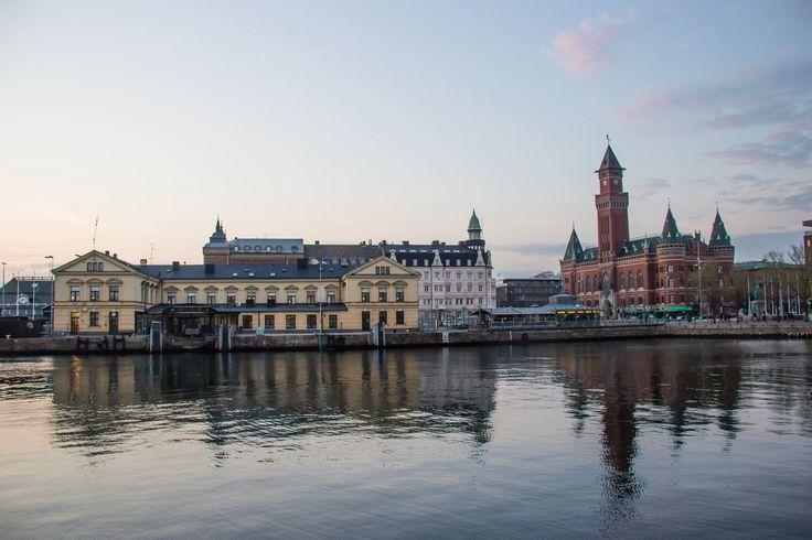 Helsingborg | Sunset in the City