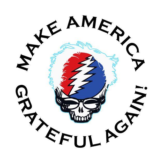 Awesome 'Make+America+Grateful+Again+2+White' design on TeePublic!