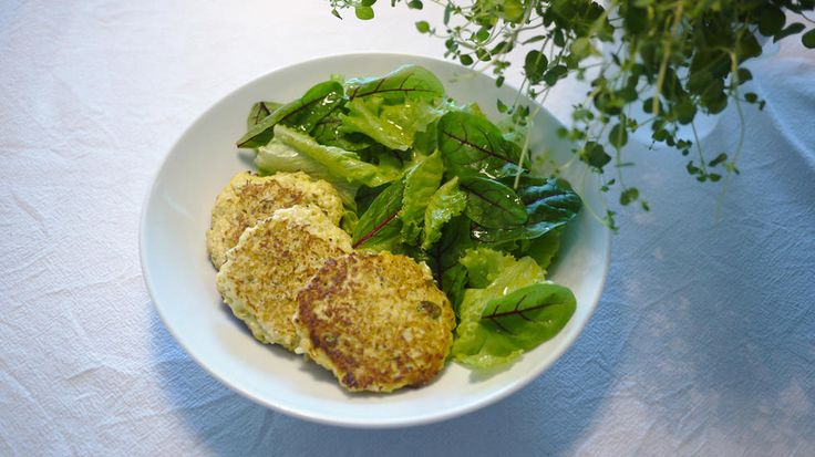 Healthy cauliflower patches - Godt.no - find something good to eat