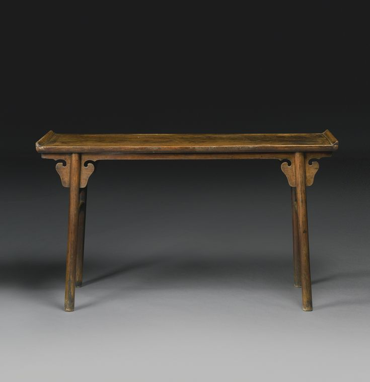 A Huanghuali Recessed Leg Table Qiaotouan Ming Dynasty