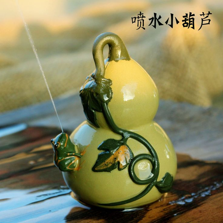 Aliexpress.com : Buy [ Search ] Yixing tea pot Kee Chong Wen ornaments handmade purple frog will play a small gourd water from Reliable water letter suppliers on China's Tea