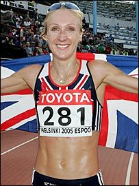 Paula Radcliffe Withdraws from Olympic Marathon Due to Foot Arthritis | Foot and Ankle Associates of North Texas, LLP
