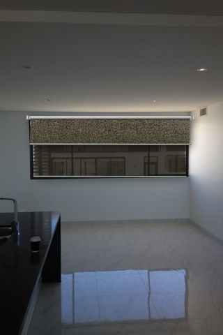 How about a texture and screen dual roller combo?  www.whichblinds.com.au