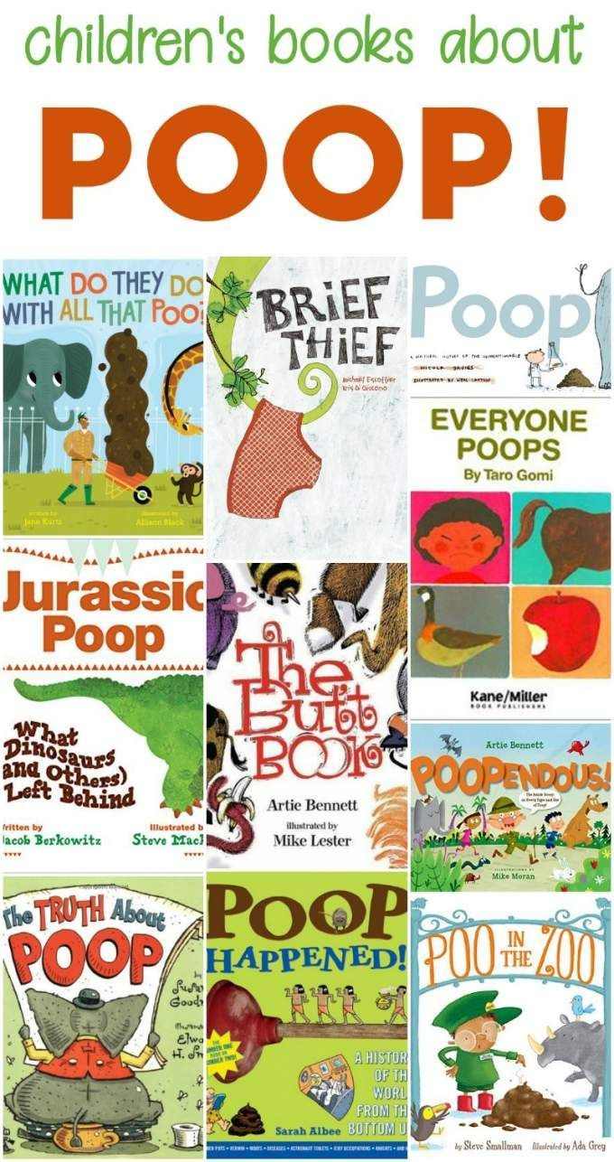 Nonfiction Books About Poop for Kids - And a few Poo Stories, too
