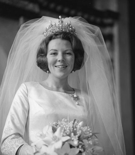 Princess (  later Queen ) Beatrix of  the Netherlands