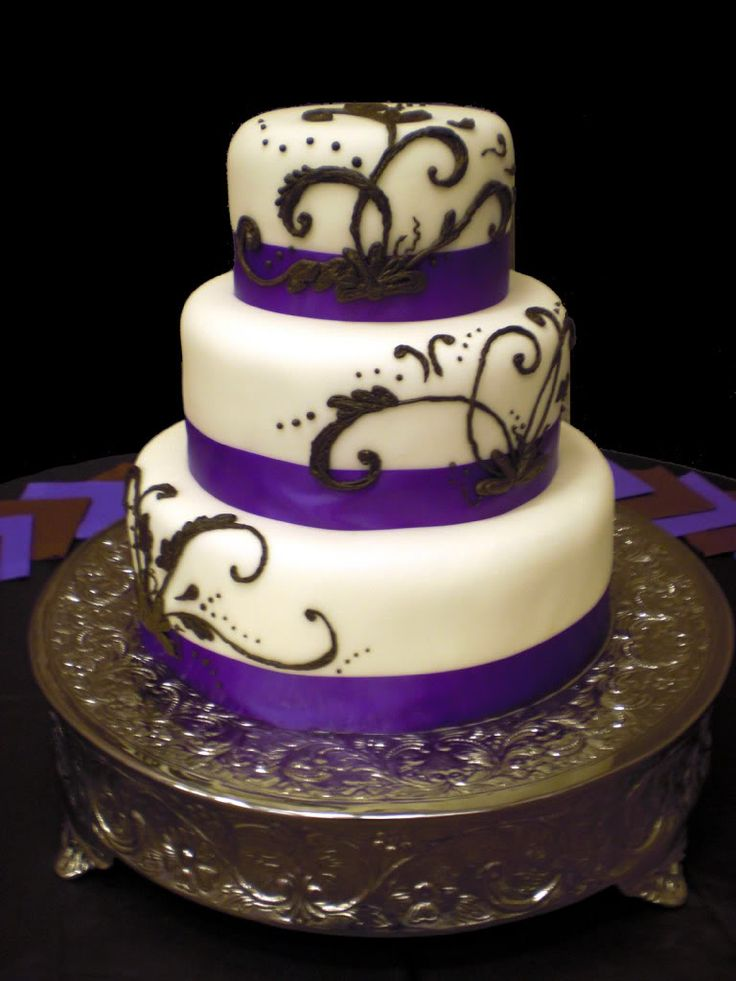 purple and silver wedding cake ideas 19 best images about wedding cakes on square 18874