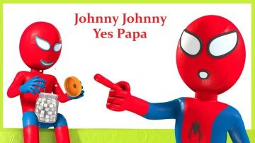 Spiderman Johny Johny Yes Papa | Nursery Rhymes and Baby Songs #johny #yes #papa #spiderman #forkids http://video-kid.com/21102-spiderman-johny-johny-yes-papa-nursery-rhymes-and-baby-songs-johny-yes-papa-spiderman-forkids.html  This is 'Johnny Johnny Yes Papa song', very interesting video for children, toddlers and babies with many colorful lesson designed in 2D and 3d animation for kids and toddlers to learn in English. Kids will enjoy this melodious song for sure. Our 3d Johnny Johnny Yes…