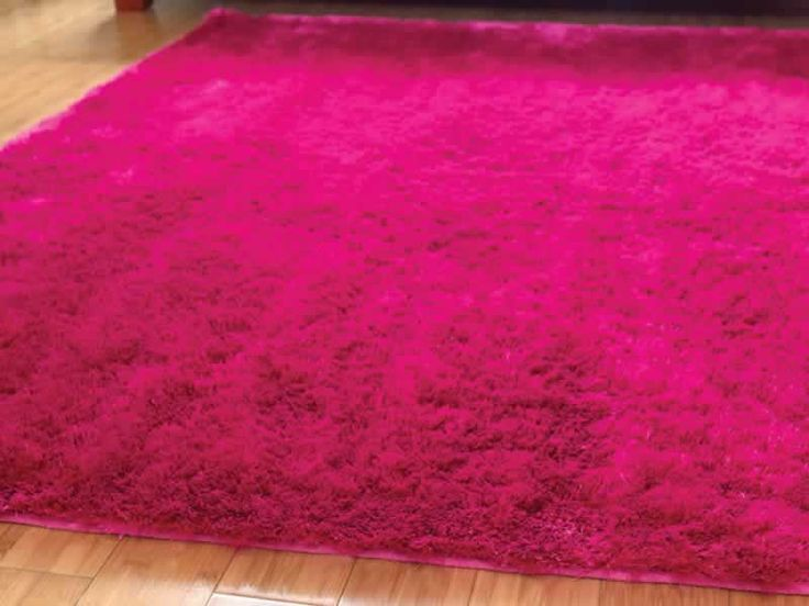 Pink Fluffy Rug My Room Pinterest
