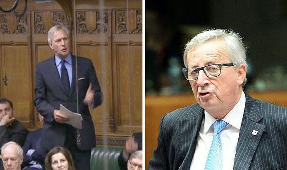 Richard Drax and Jean-Claude Juncker