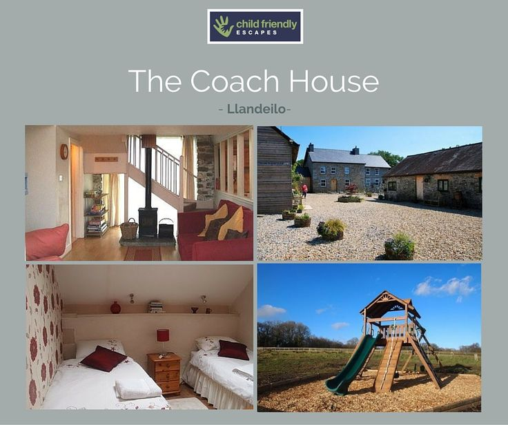 Set on Cwmcrwth Farm, Carmarthenshire, The Coach House is a 3 bedroom cottage with plenty of space for little ones. Travel cots, high chairs, bed guards, plastic crockery and cutlery, changing mat, potty, bath toys, toilet seat and even Milton is available if required!   For more information or to book go to www.childfriendlyescapes.co.uk/properties/coach-house  Love this post - please share!   www.childfriendlyescapes.co.uk