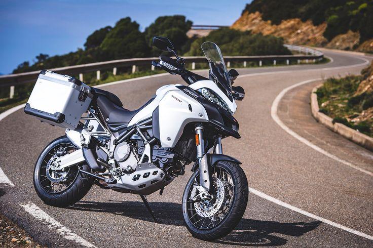 Ducati Multistrada 1200 Enduro static front 3/4 view