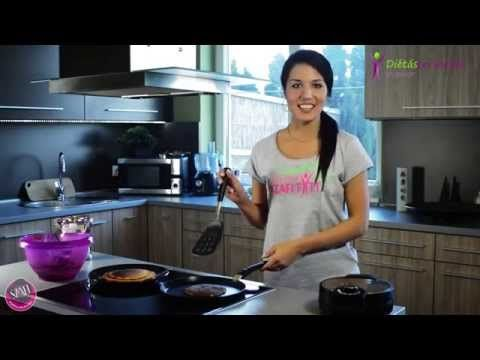 Paleo pankace and gofri recipe  Diétás Paleo palacsinta és paleo gofri (egyszerű, gyors recept) - YouTube