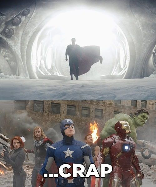 I think Thor could take him. After all, one of Superman's weaknesses is magic. but he would call batman lol