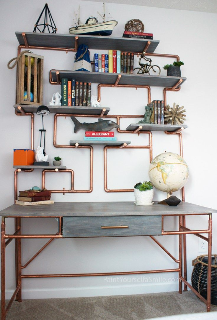Best 25 Pipe Desk Ideas On Pinterest Industrial Pipe Desk Pipe Table And