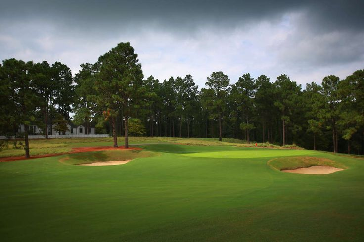 Pine Needles Golf Course 5th Hole in Southern Pines NC