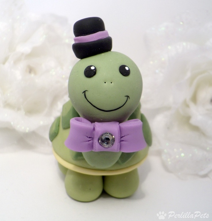 ahhh turtle cake topper!?!? yes please! sorry babe! :)