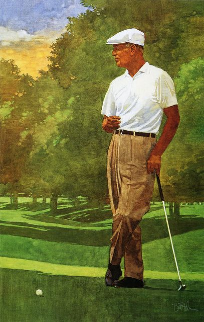 Ben Hogan won all four major championships and 9 career majors. He is noted for…