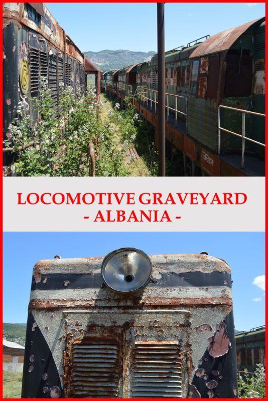 Abandoned CDK Locomotives, Prrenjas, Albania