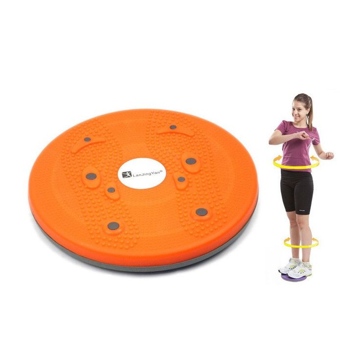 82% Off Limited Price Time!!!   +FREE SHIPPING   Wobble Balance Twist Waist Ankle Torsion Disc Board Plate Body Aerobic Exercise Foot Fitness Yoga Training Reflexology Magnet