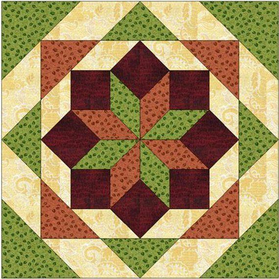 Plastic Templates Diamond Star of Bethlehem quilt