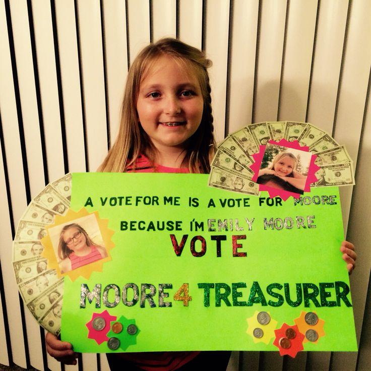 Running for treasurer essay