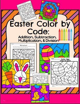 Játékos tanulás és kreativitás: Számolós színezők a húsvét jegyében
