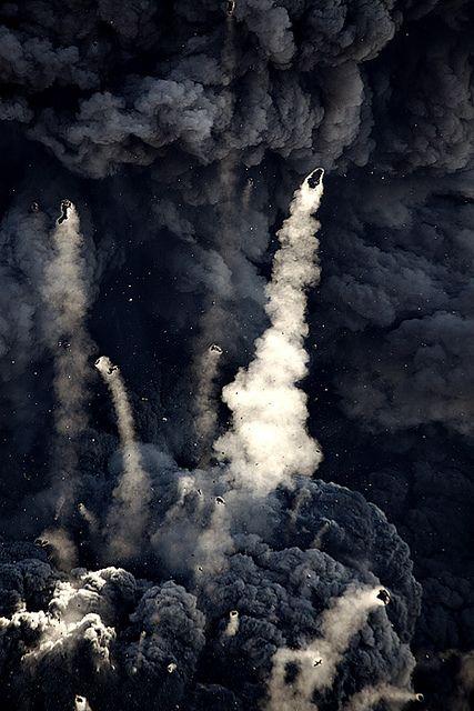 Lava bombs--Eyjafjallajokull, Iceland