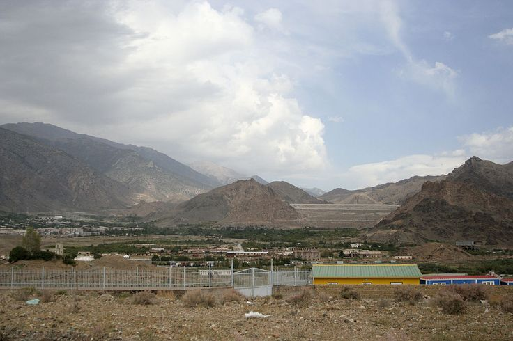 Agarak as seen from the Armenia-Iran borderline