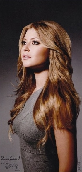 holly valance layered hair