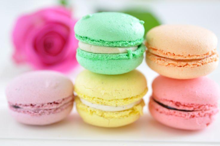 Recetas de concina www.muyfemenino.com macarons
