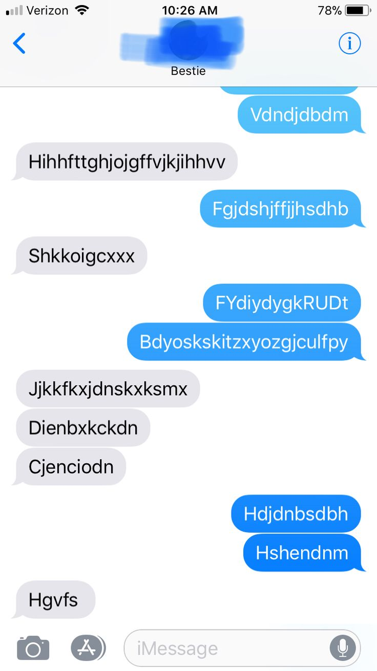 Texting with Besties be like.......