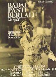 Film BADAI PASTI BERLALU (1977) Director : Teguh Karya
