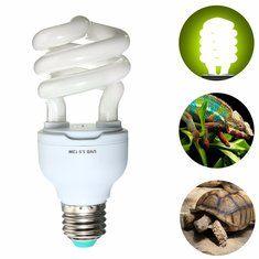 #Banggood 50 100 UVB 13W E27 Pet Reptile Свет Glow Лампа для Виварий террариум Tortoise (1122382) #SuperDeals