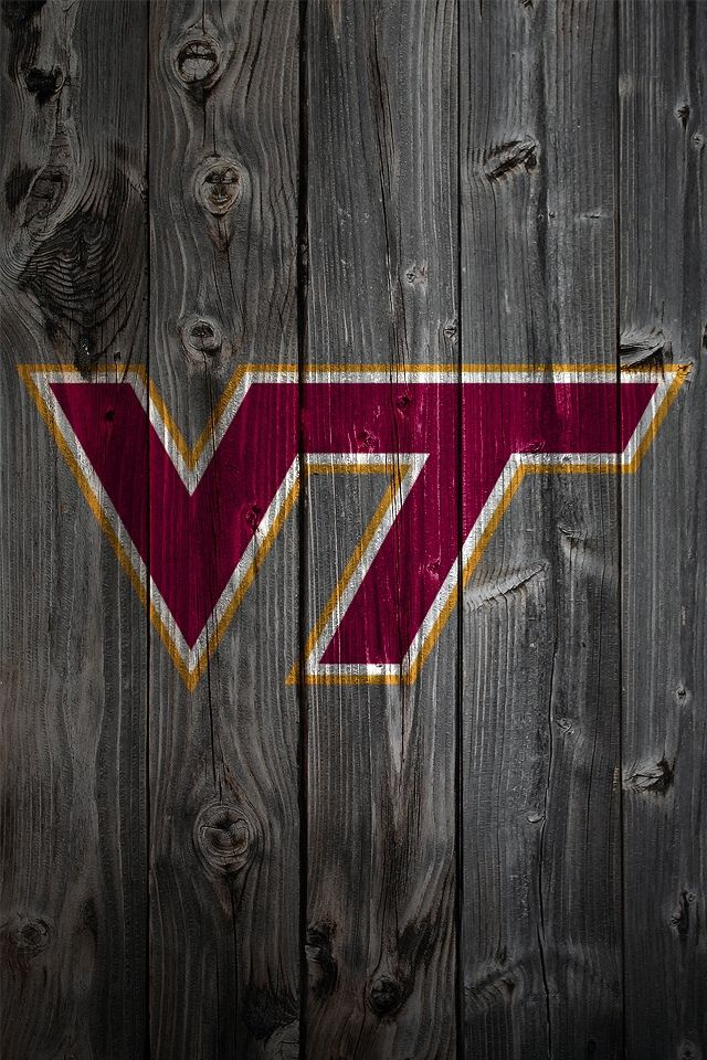Virginia Tech Wood iPhone Wallpaper | Retina iPhone Wallpapers