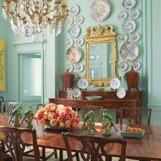 """Located on Armstrong Parkway in Highland Park, Texas, this French estate designed by Anton Kornis one of the most significant architectural properties in Dallas. It was the final interior design project of John Astin Perkins, the decorator credited with creating the classic """"Dallas look"""" –bright color and patterns, traditional (but not staid) furniture, and highly …"""