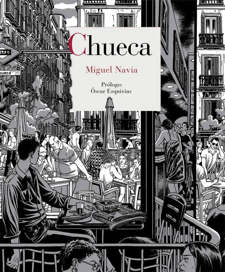 «Chueca», de Miguel Navia, en Reino de Cordelia, es una espectacular descripción gráfica de este barrio, uno de los más castizos y, al mismo tiempo, más modernos de Madrid. Descubre más aquí: https://www.veniracuento.com/content/chueca