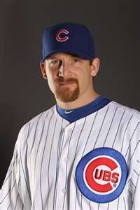 Happy Birthday: Ryan Dempster  Ryan Dempster is a Major League Baseball starting pitcher for the Chicago Cubs. Dempster bats and throws right-handed. He has been both a starter and a reliever in his career.  keepinitrealsports.tumblr.com  keepinitrealsports.wordpress.com