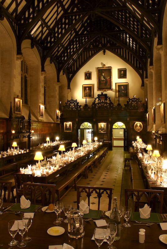 Exeter College Dining Hall | Oxford, England