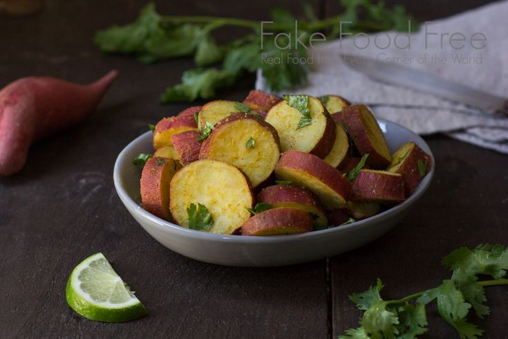 Steamed Japanese Yams with Curry and Lime Recipe on Yummly. @yummly #recipe