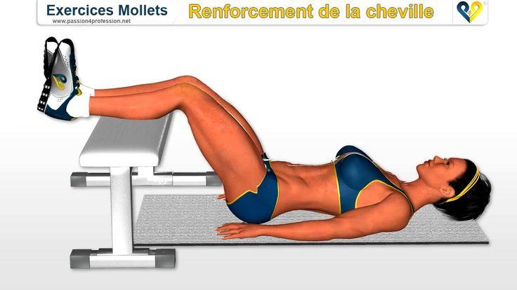 Exercices Mollets: renforcement de la cheville