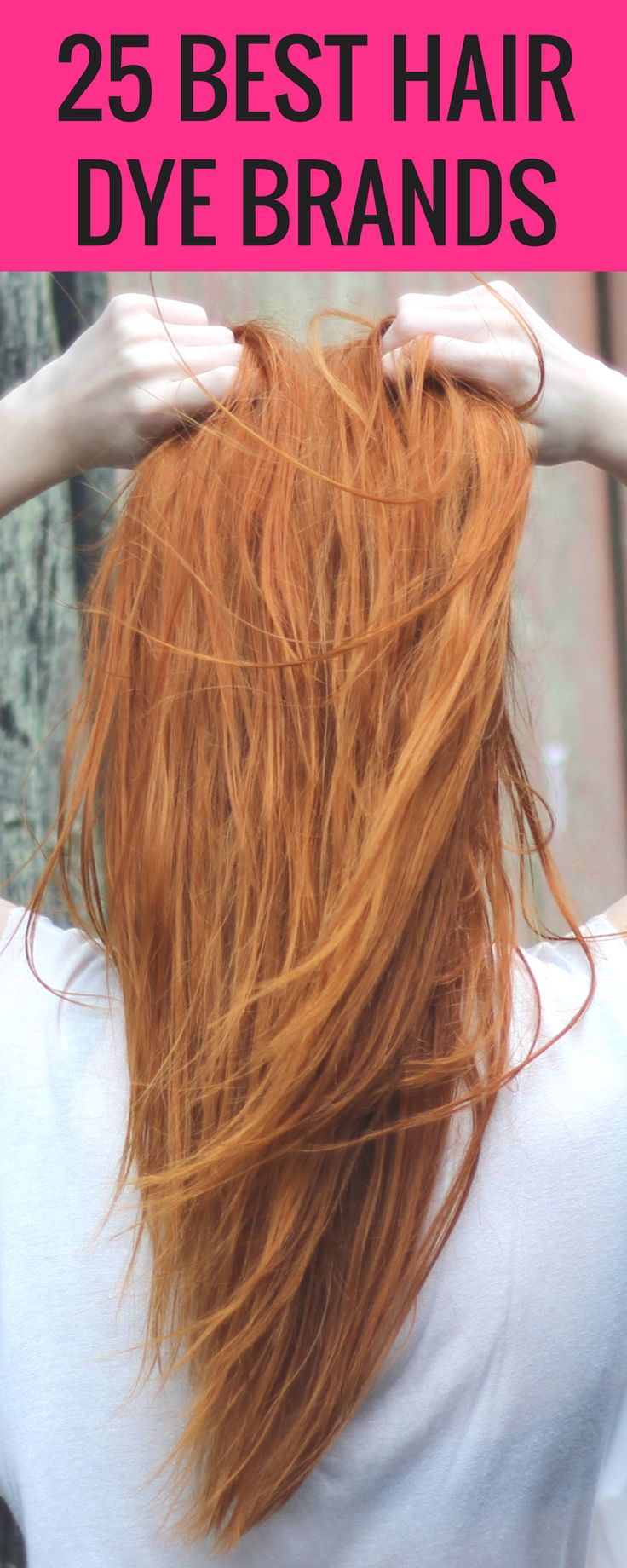 Great list for dying your hair at home