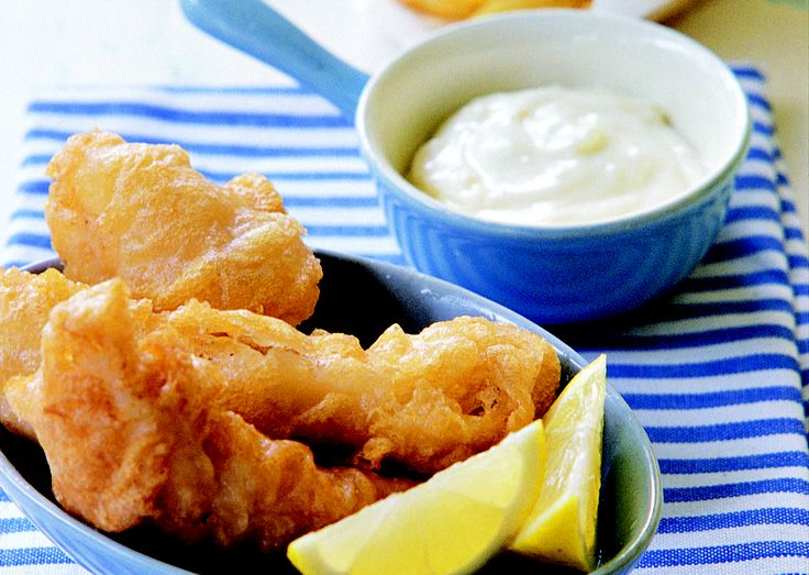 Fish and chips - HomeChoice Cookbook Volume I. Find the recipe here: http://hometalk.homechoice.co.za/content/fish-and-chips