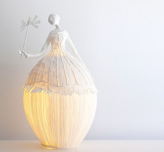 bulky dolls paper lamps