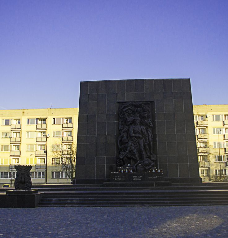 Warsaw: Memorial for Warsaw Ghetto Uprising