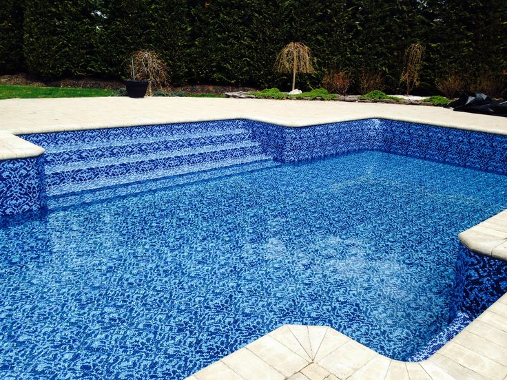 40 best images about pool liners on pinterest classy pebble floor and sands - Witte pool liner ...